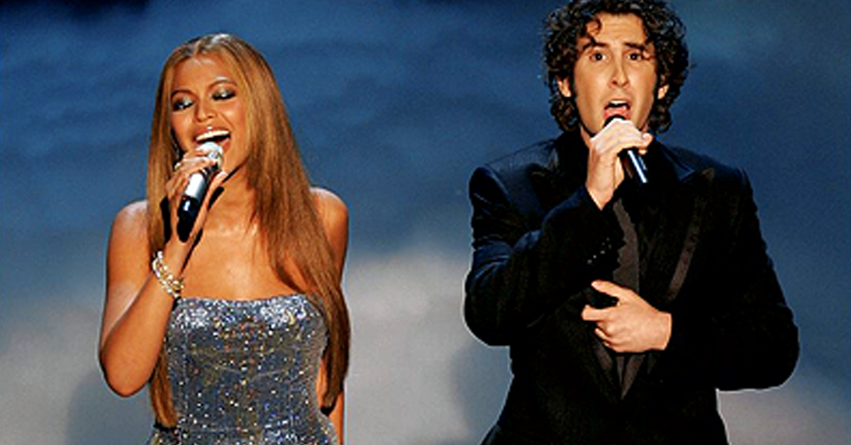 Josh Groban Christmas duet with Beyonce \'Believe \' Live! | Jesus ...