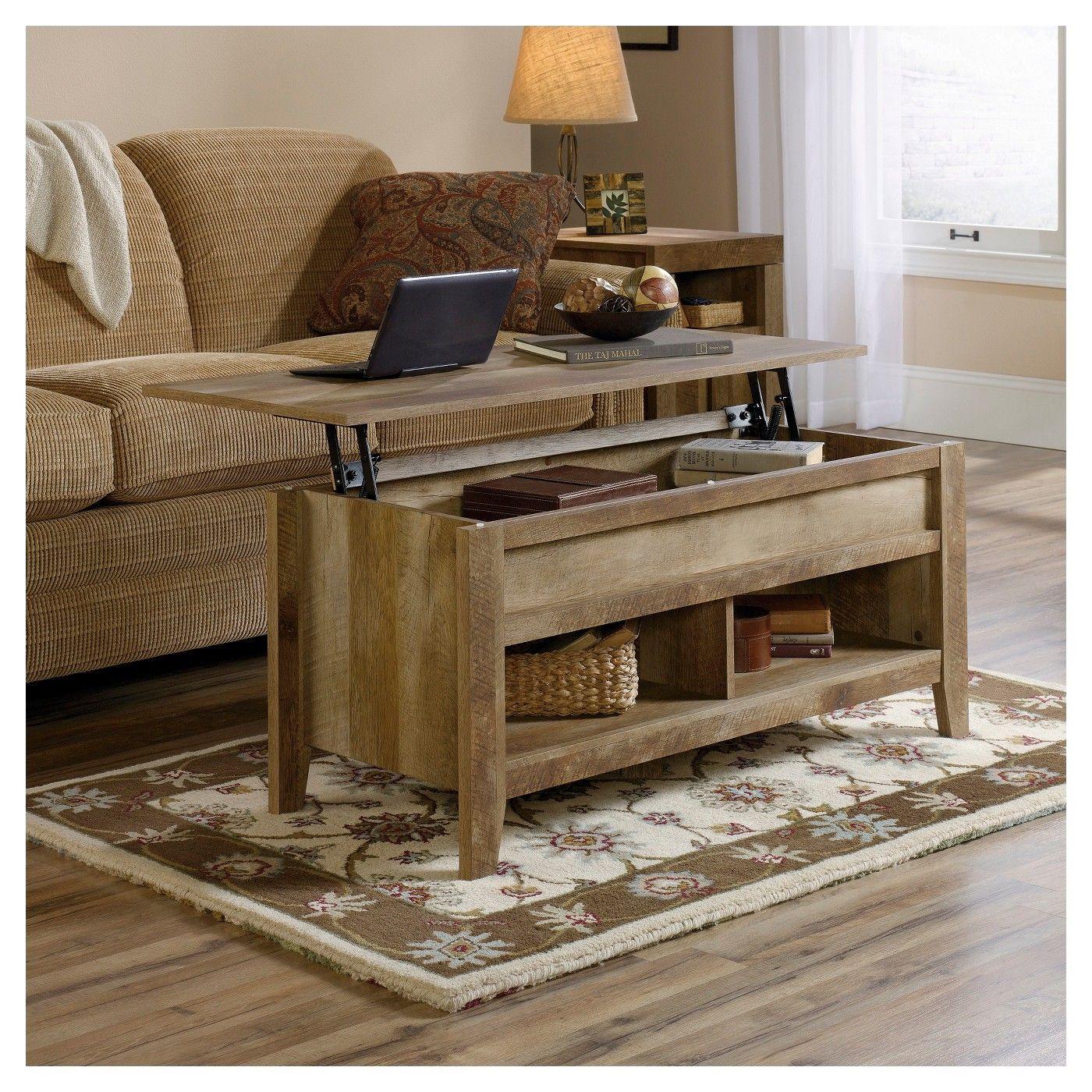 Dakota Pass Lift Top Coffee Table Craftsman Oak Sauder Coffee Table Farmhouse Coffee Table Wood Coffee Table [ 1400 x 1400 Pixel ]