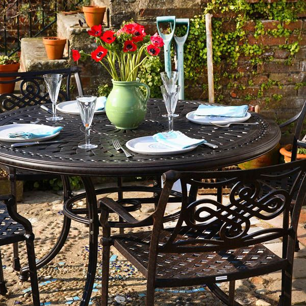 Outdoor furniture is more versatile and long-lasting than in years past.  Most furniture