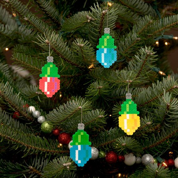 4 PACK VARIETY ORNAMENT PACK