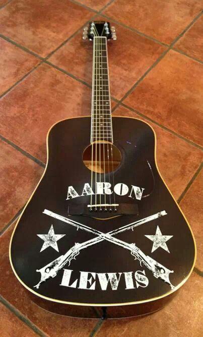 Aaron's guitar