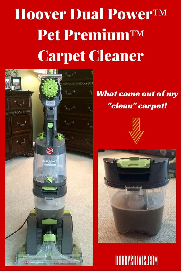 Hoover Dual Power™ Pet Premium™ Carpet Cleaner Carpet