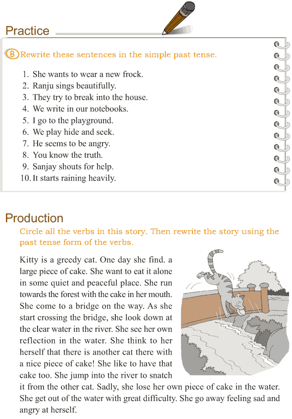 Grade 3 Grammar Lesson 9 Verbs - the simple past tense - Good ...