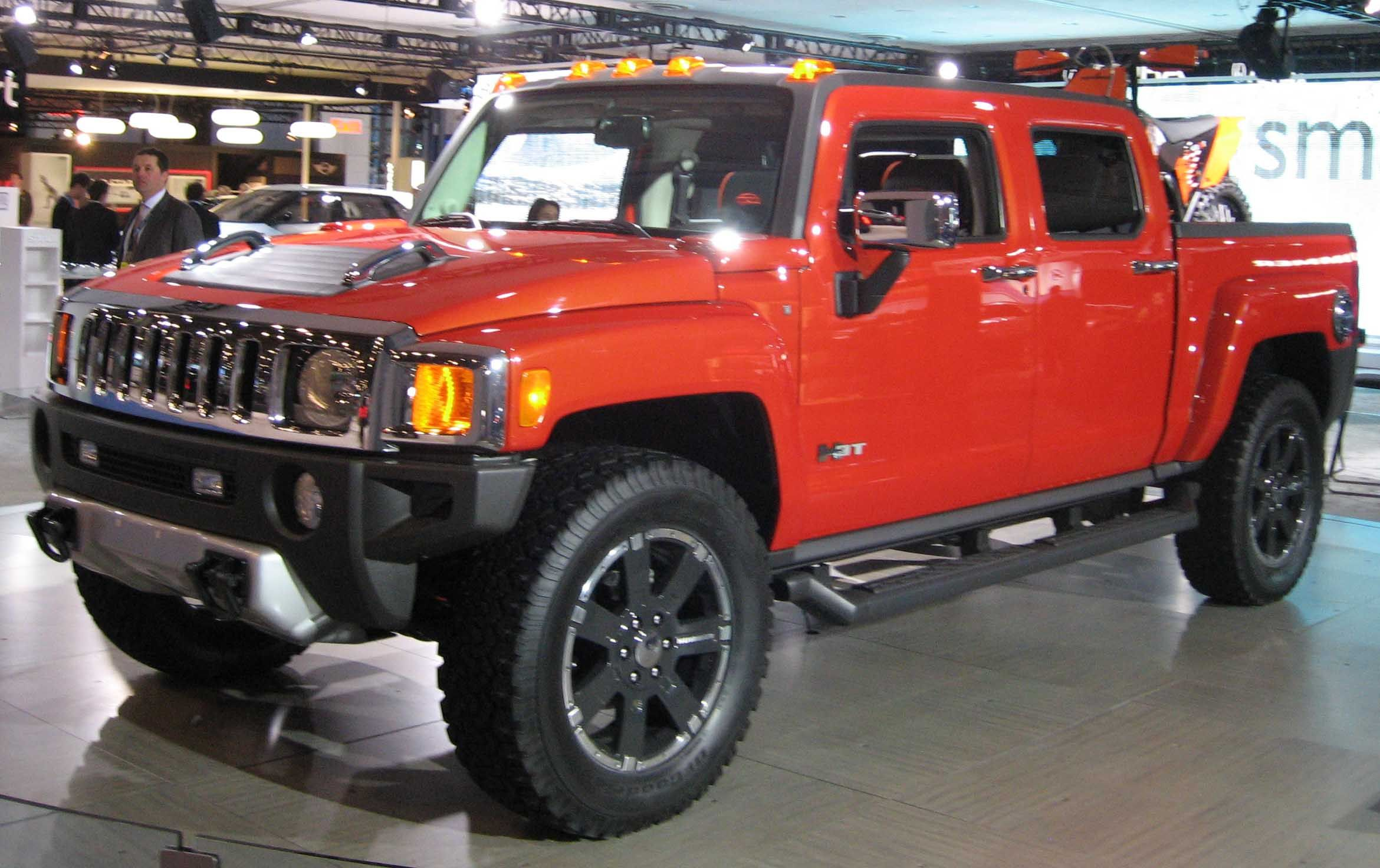 When the U.S. manufacturer of military off-road vehicles ... | hummer ht3