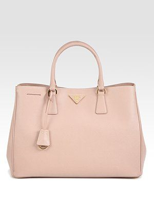 Prada Saffiano Lux Tote Bag. (Light Pink)   Momma s Got a Brand New ... d77be215d0