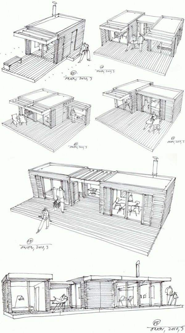 Modular Home Additions in rustic style