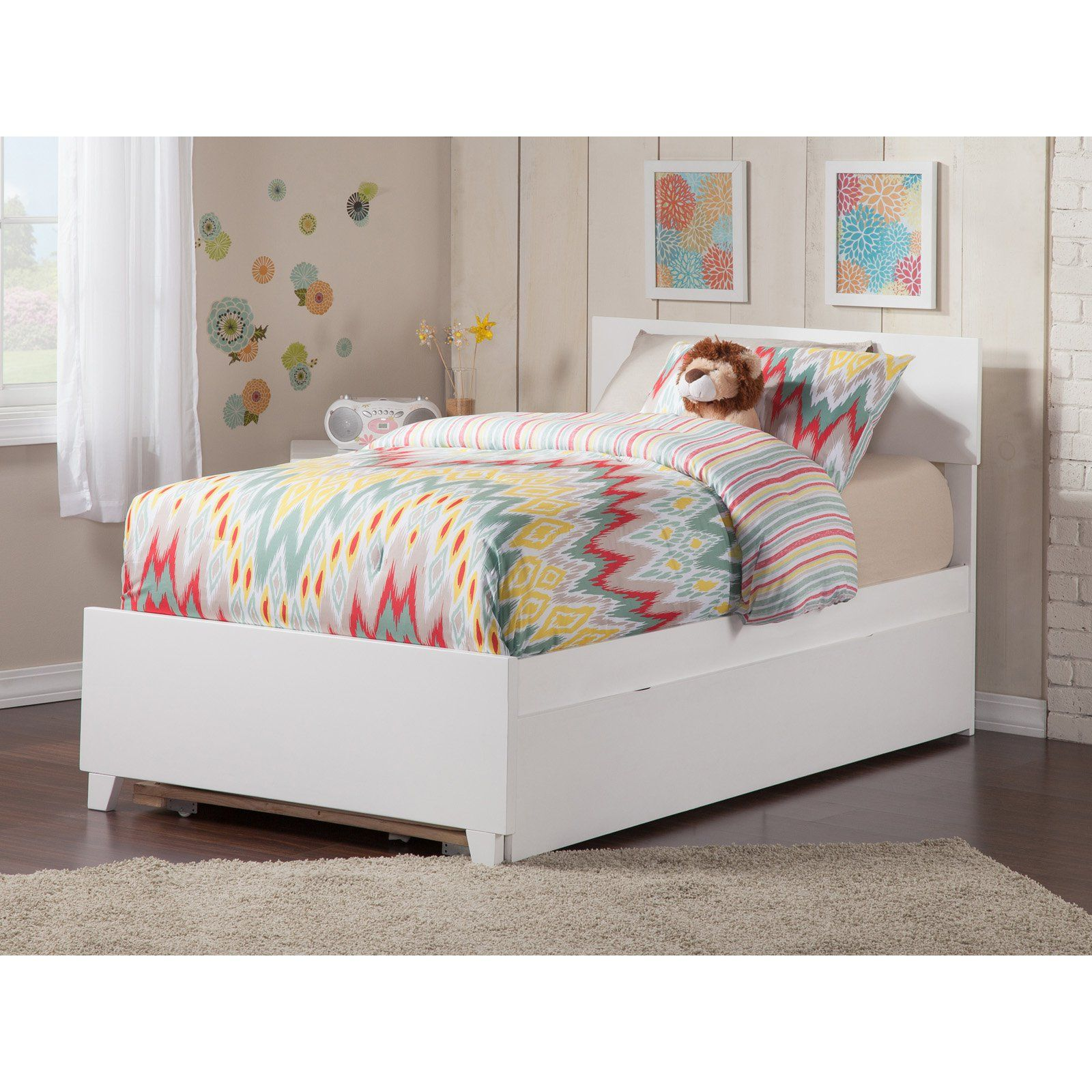 Atlantic Furniture Orlando Bed with Matching Foot Board