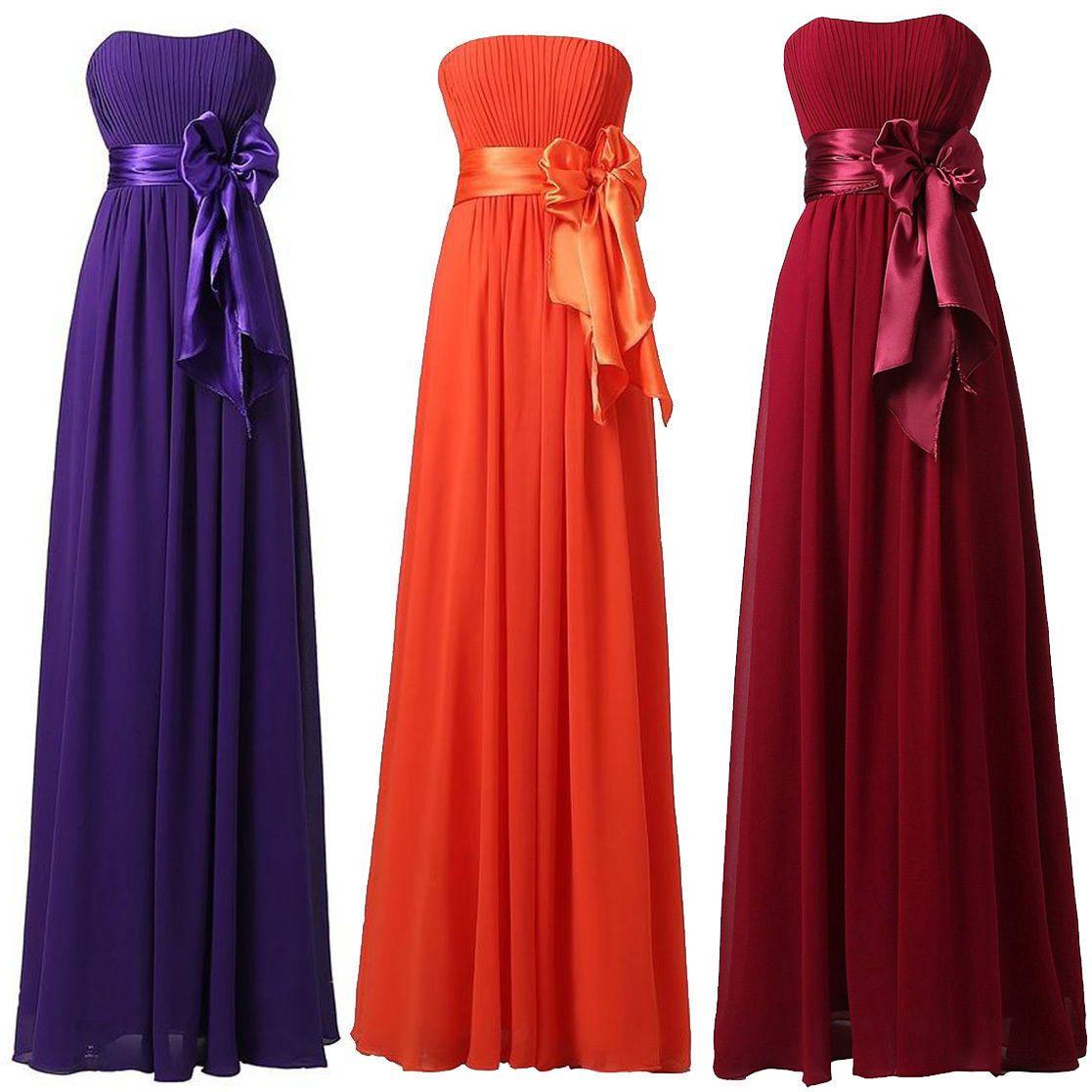 Cool prom dresses usa us womens long formal wedding bridesmaid dress