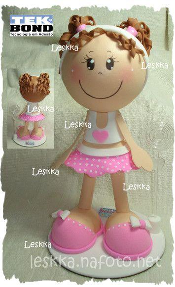 boneca em eva R$25,00