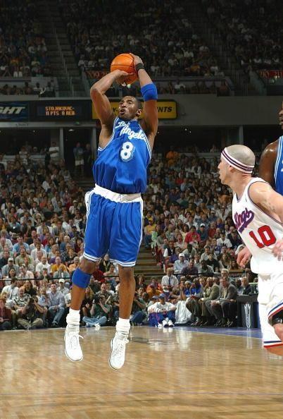 When Kobe Wearing Blue La Kobe Bryant Black Mamba Kobe Bryant Nba Kobe Bryant