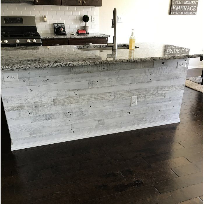 3 Quot Reclaimed Barnwood Peel And Stick Wall Paneling In