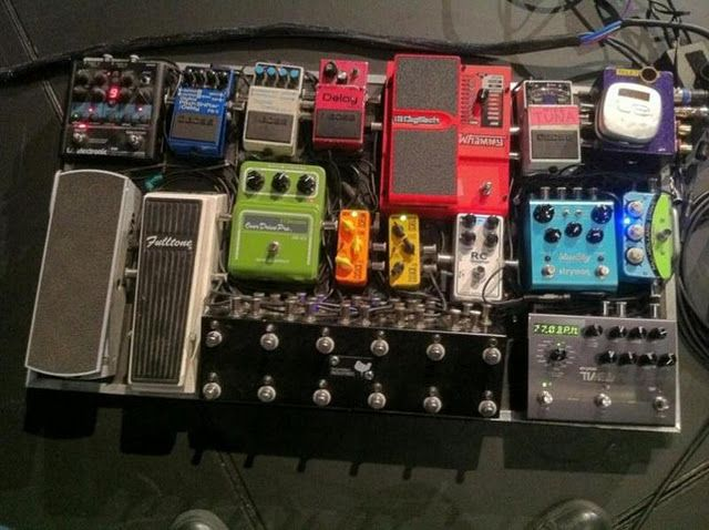nigel hendroff 39 s rig gear talk guitar effects pedals pedalboard guitar pedals. Black Bedroom Furniture Sets. Home Design Ideas