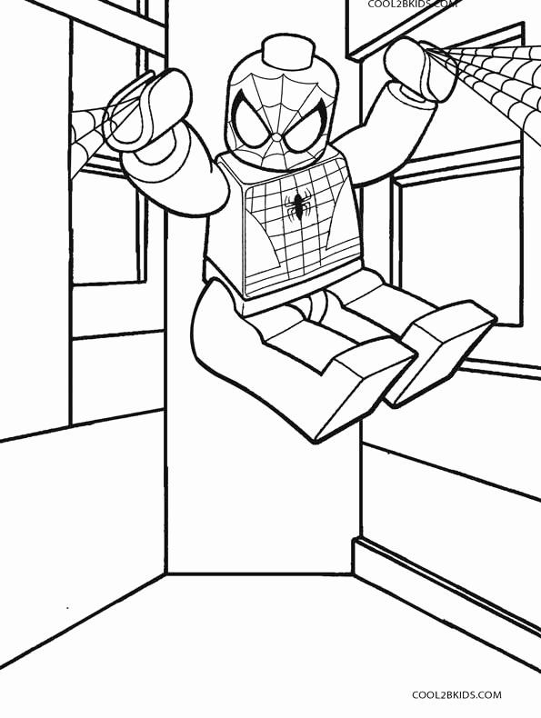 Lego Spiderman Coloring Page Lovely Printable Spiderman Coloring Pages For Kids In 2020 Spiderman Coloring Lego Coloring Pages Lego Coloring