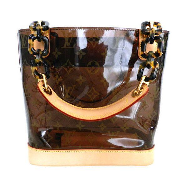 Louis Vuitton - Louis Vuitton Ambre Cabas PM Limited Edition found on Polyvore
