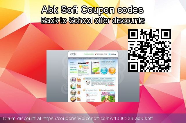 Abk Soft coupon codes, up to 10% discount, April Fools
