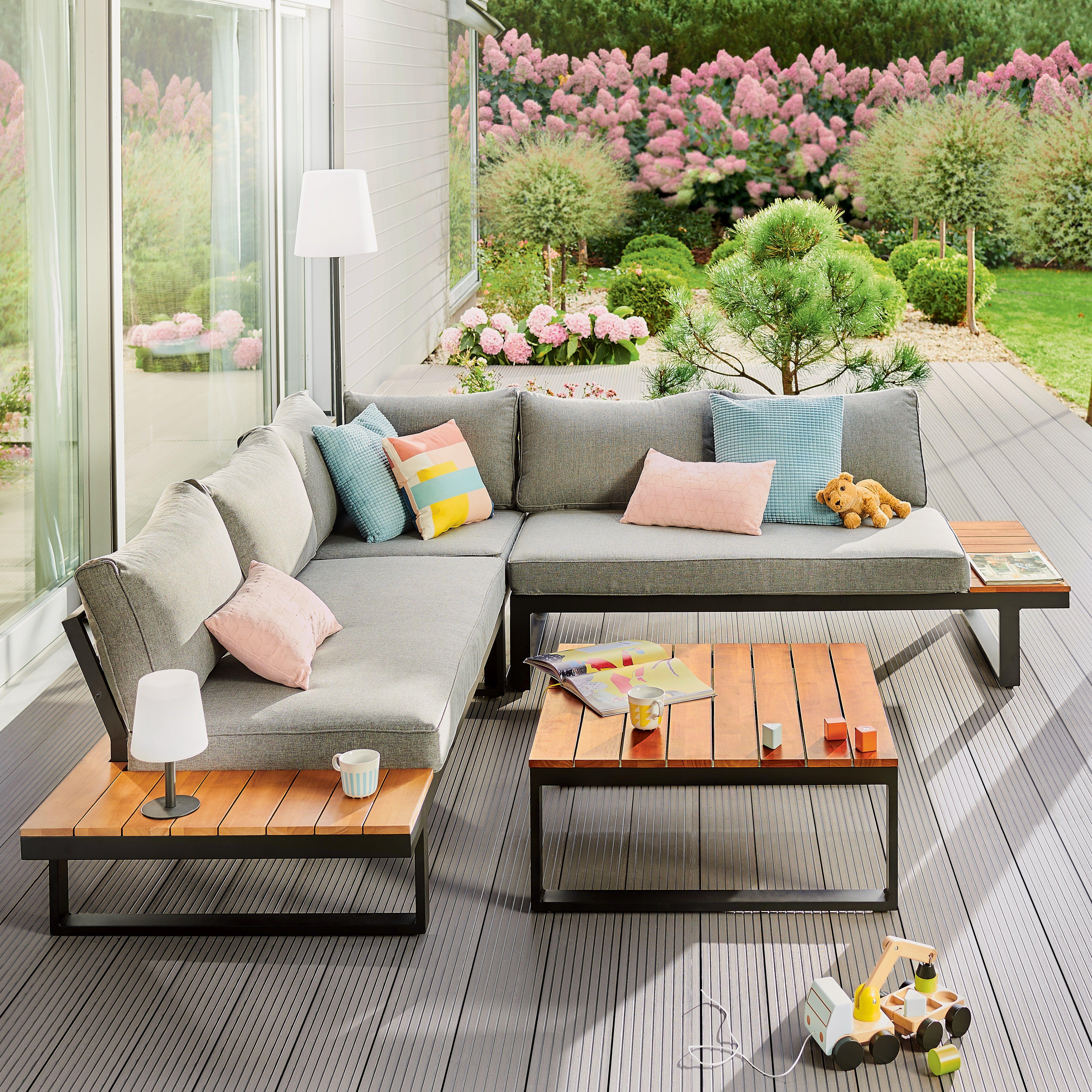 Minimalizm Z Kolorem Outdoor Furniture Sets Outdoor Furniture Outdoor Sectional Sofa