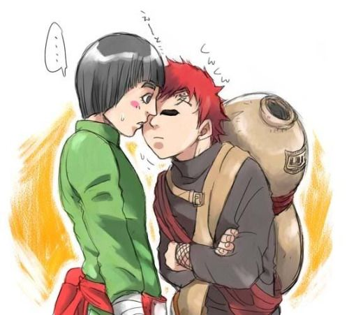 Naruto - Gaara no Suna x Rock Lee - GaaLee | Gaara & Lee ... Gaara And Rock Lee Yaoi