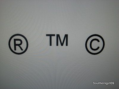 How To Add The Registered Trademark And Copyright Symbols To An