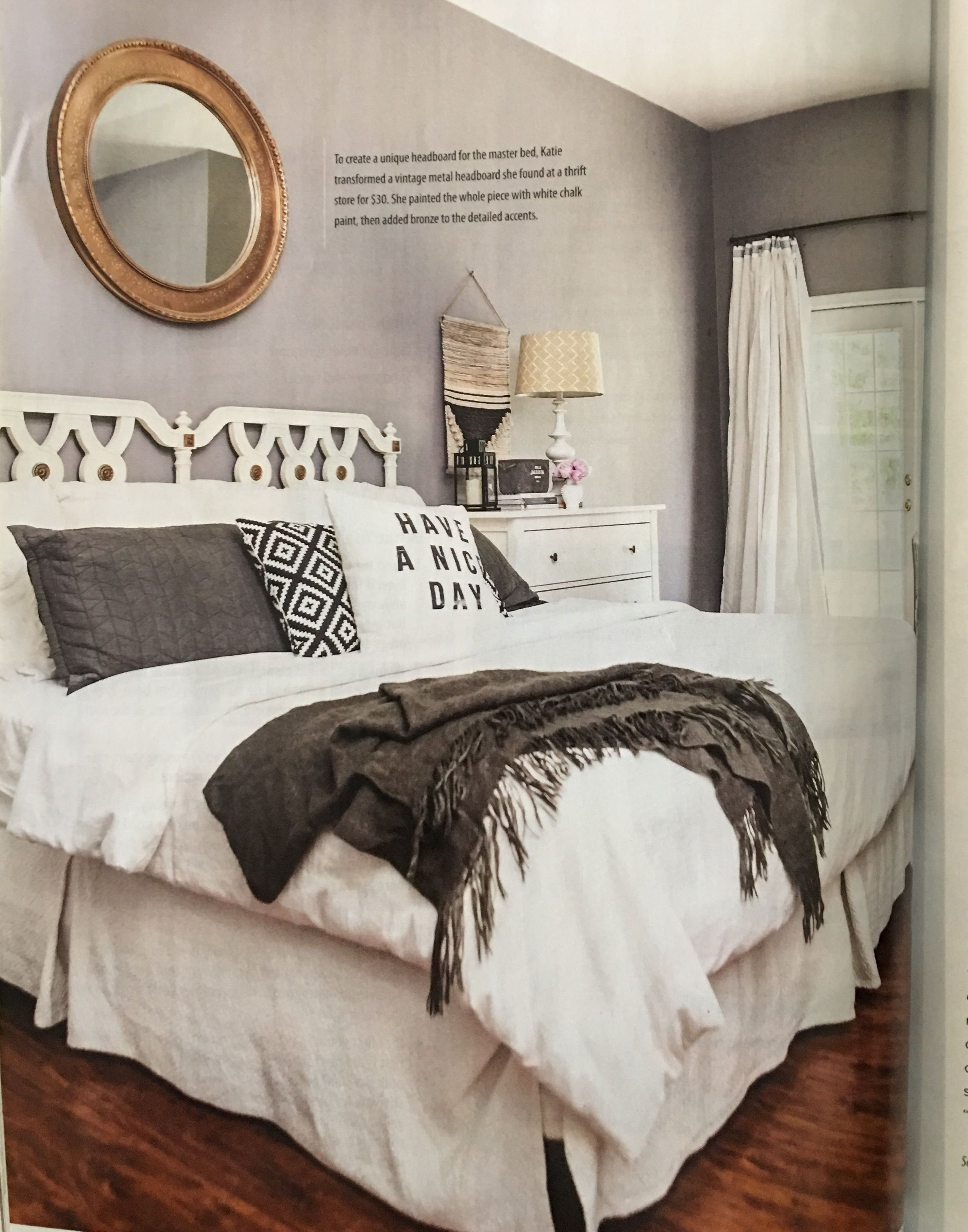 Vintage master bedroom decor  Pin by Brenda Smith on HOME  Pinterest