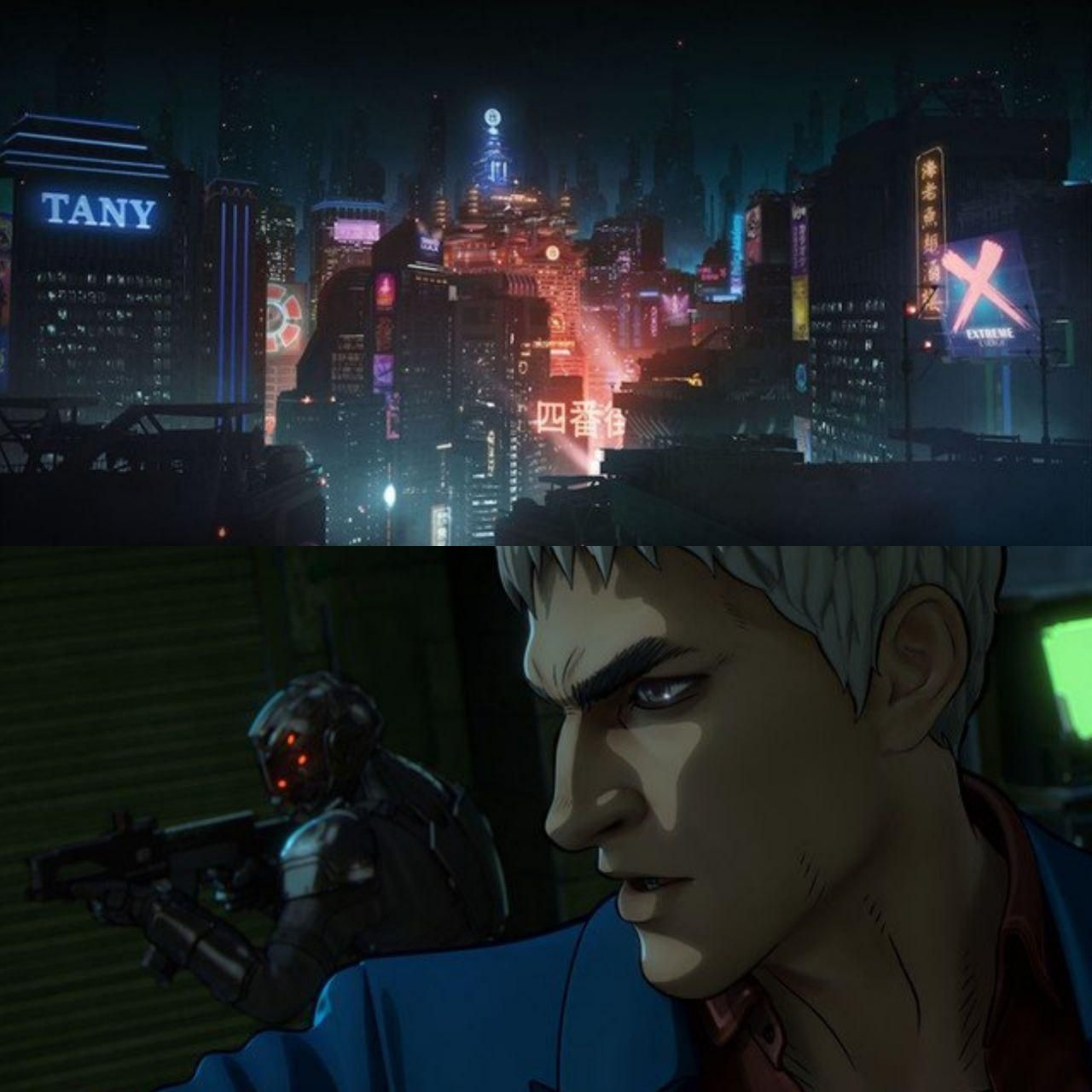 The First Still Animated Film Altered Carbon Resleeved Netflix S