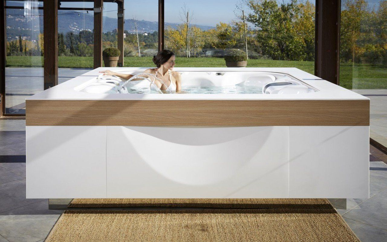 Aquatica Laguna Spa 220 240v 50 60hz Indoor Hot Tub Large Bathtubs Hot Tub Outdoor