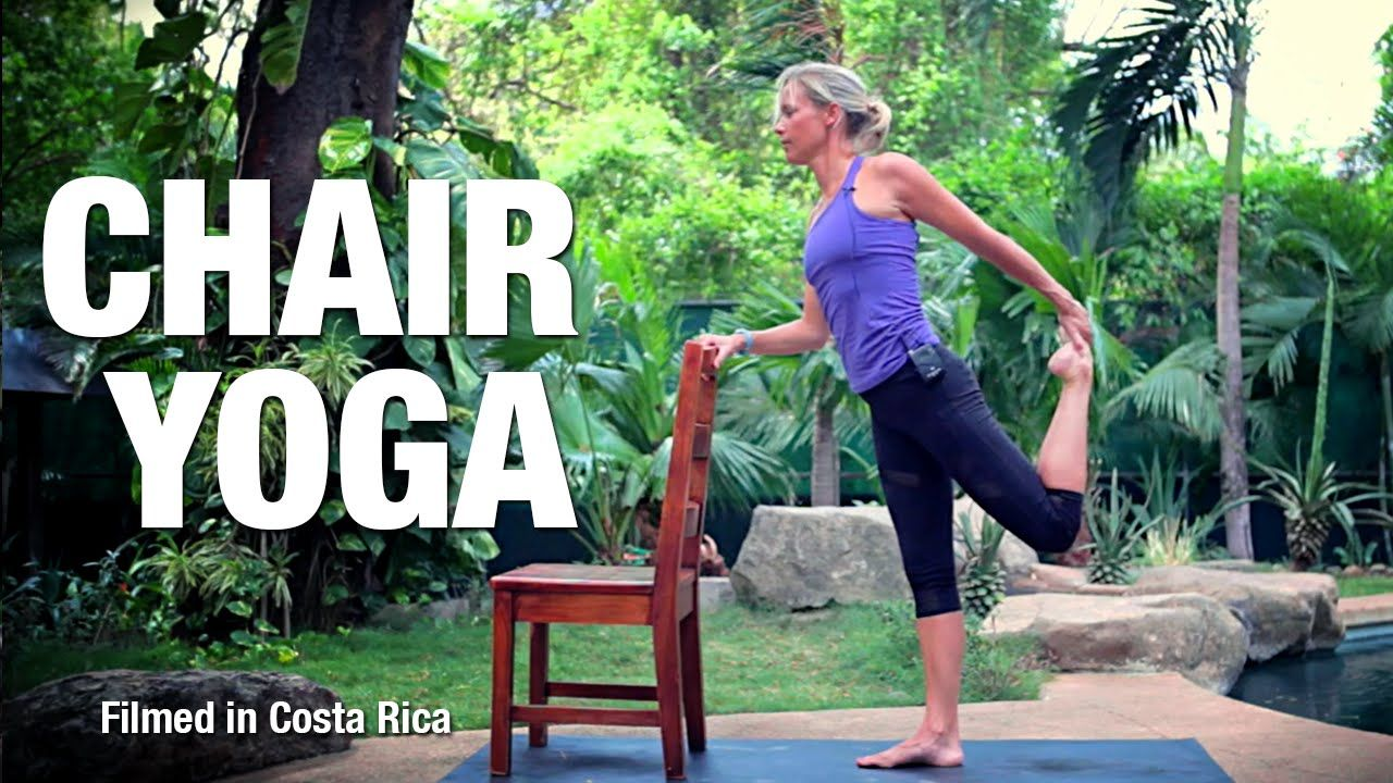 Chair Yoga for Balance & Breath Five Parks Yoga Chair