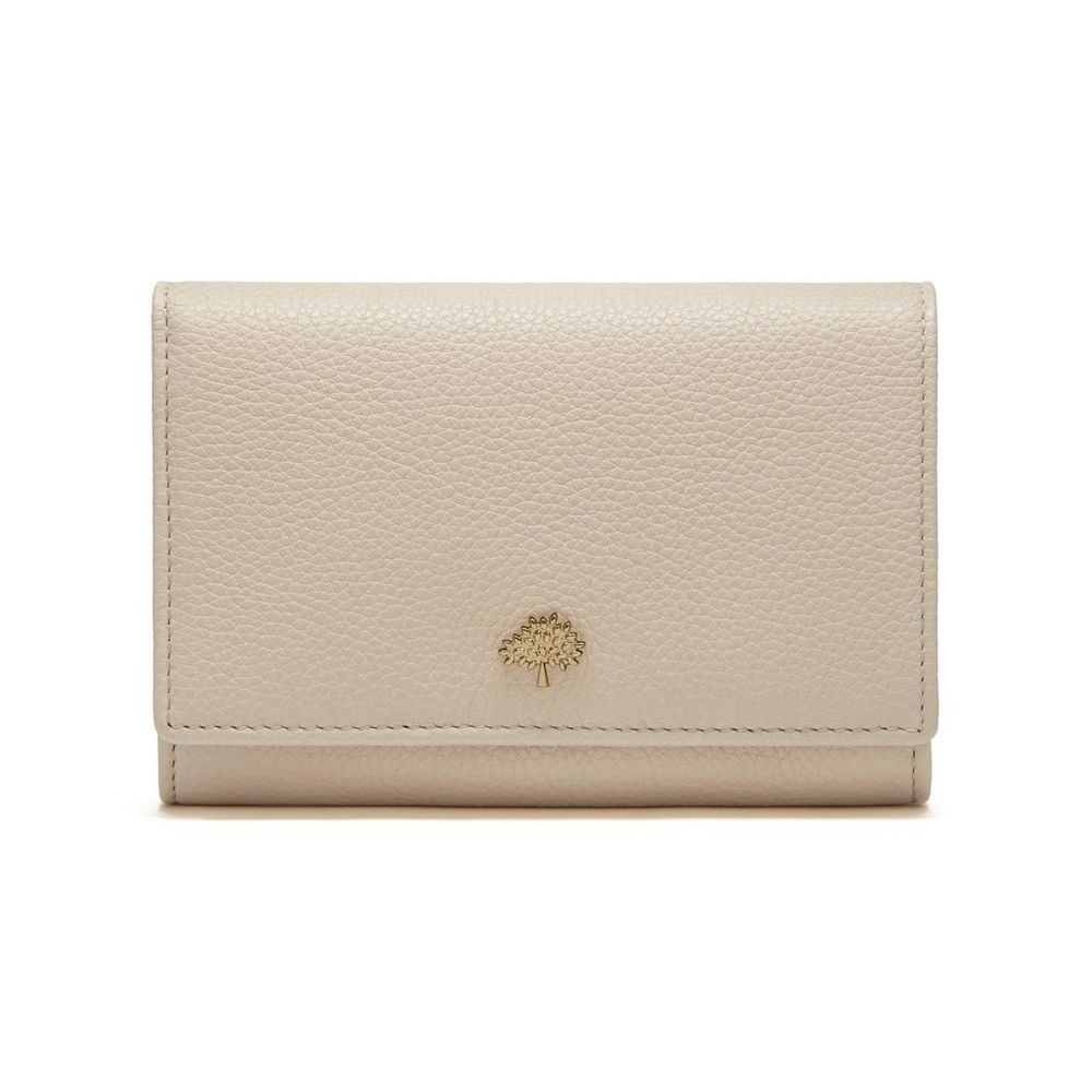 ac7268635d Tree French Purse in Buttercream Small Classic Grain   Women   Mulberry
