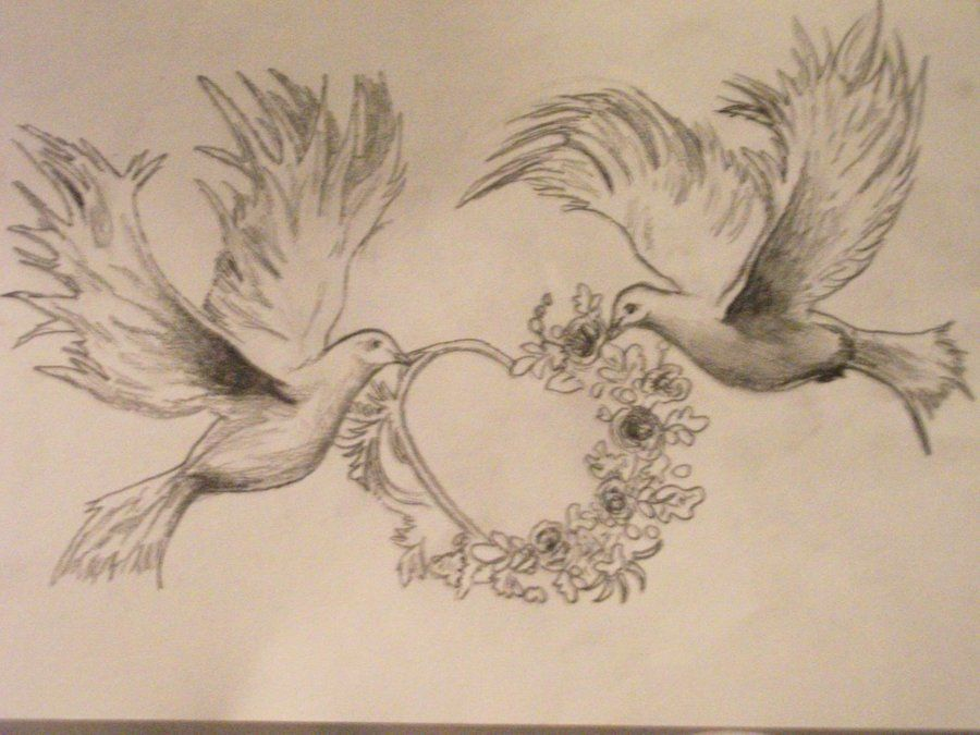 Tattoo design sketch doves by madschquee on deviantart tattoo sketch drawings dove tattoo designs rose with angel wings tattoos voltagebd Choice Image