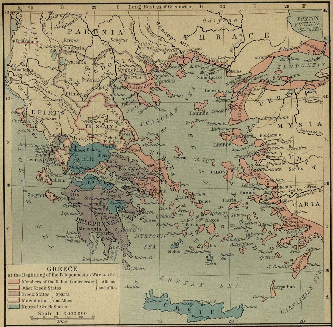404 bc sparta finally defeats athens in the peloponnesian war greece at the beginning of the peloponnesian war b taken from the historical atlas by william r shepherd 1923 perry castaeda library map collection sciox Image collections