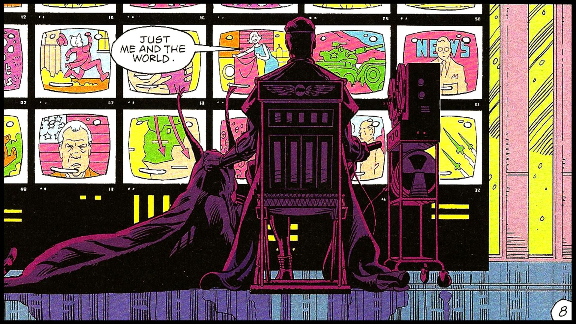 Just Me And The World Ozymandias Watchmen Watchmen R Wallpaper Best Kids Watches
