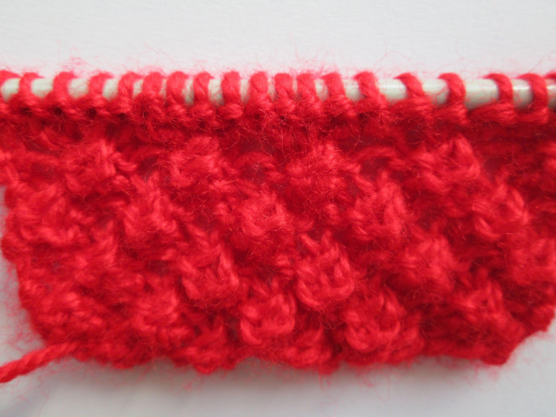 D i y tuto tricot apprendre a tricoter le point d 39 astrakan ou trinite p couleurs - Apprendre a tricoter gratuitement ...