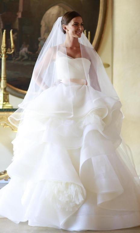 Unique Vera Wang Katherine Size Used Wedding Dresses