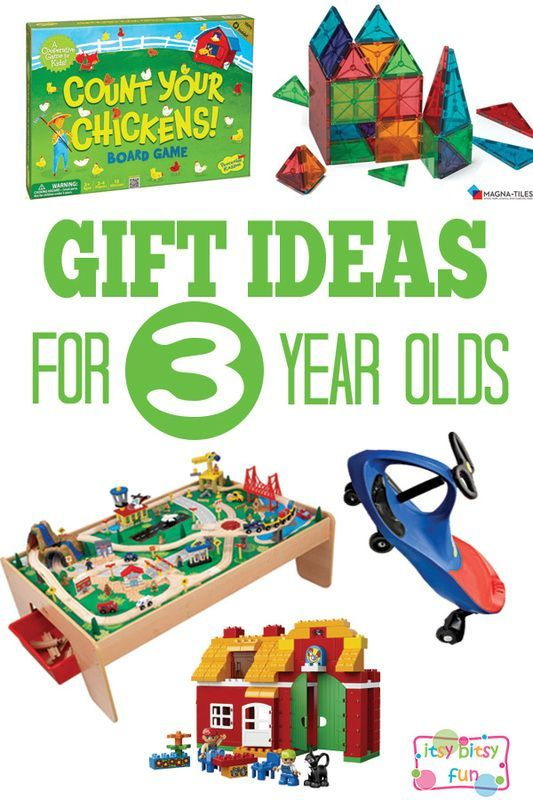 Gifts for 3 Year Olds - Christmas and Birthday Ideas | Toys Kids