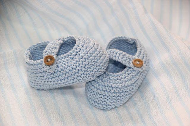 DIY TEJER: patucos zapatitos de bebe (patrones gratis) | Patucos ...