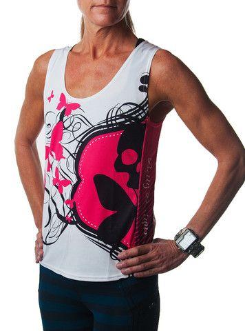 Betty designs signature run tank