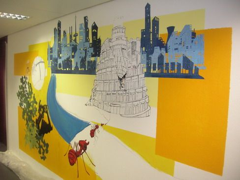 School Wallpaper Murals for Wall Decoration Ideas | Edu:School ...