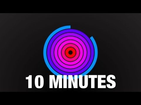 10 minute countdown radial timer with beeps youtube art