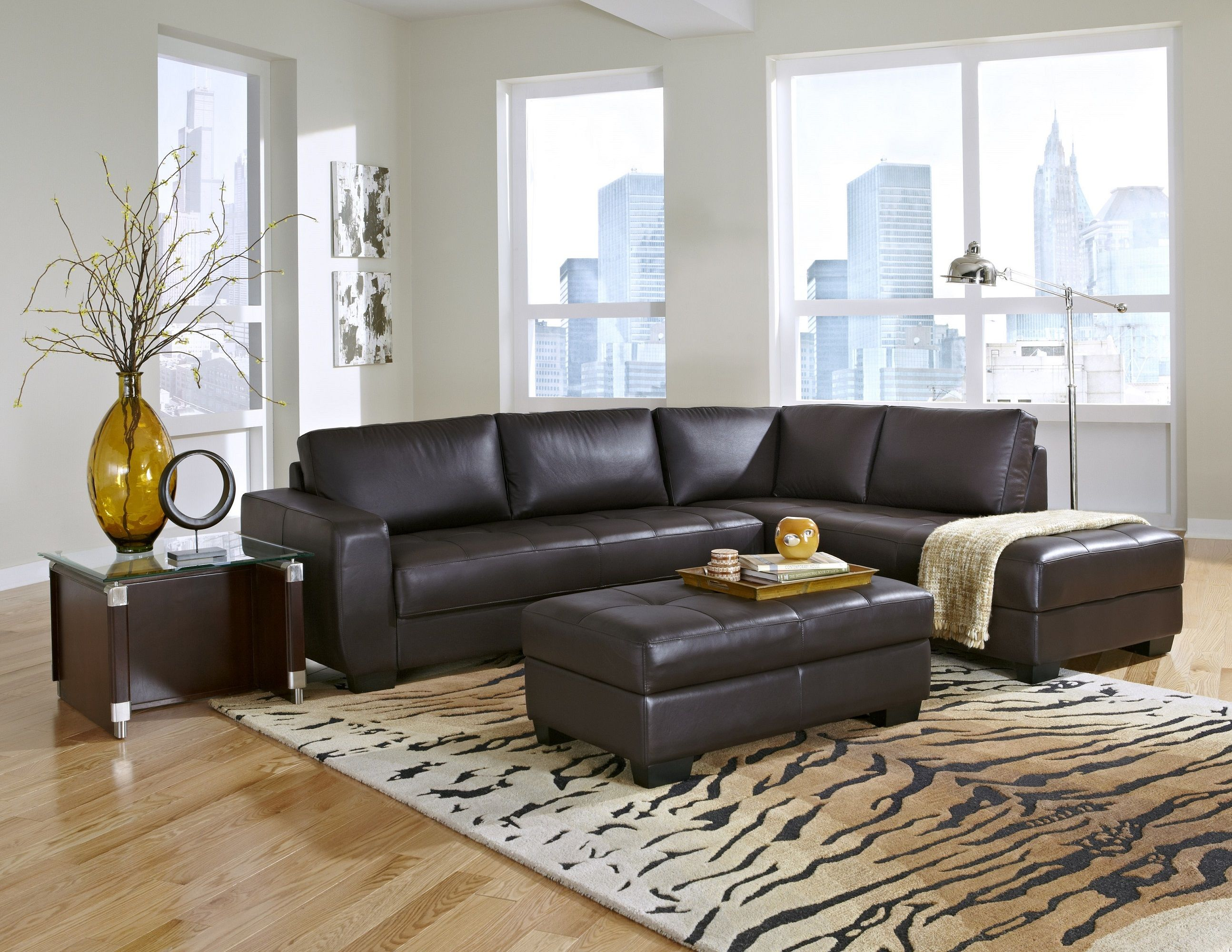 Espresso All Leather Sectional Sofa Group Ideas for Mike. Ergonomic Living Room Furniture Home. The Cg House by Glr Arquitectos Interiorbrown. Design Salon Moderne Jaune Exterieurhome Colors