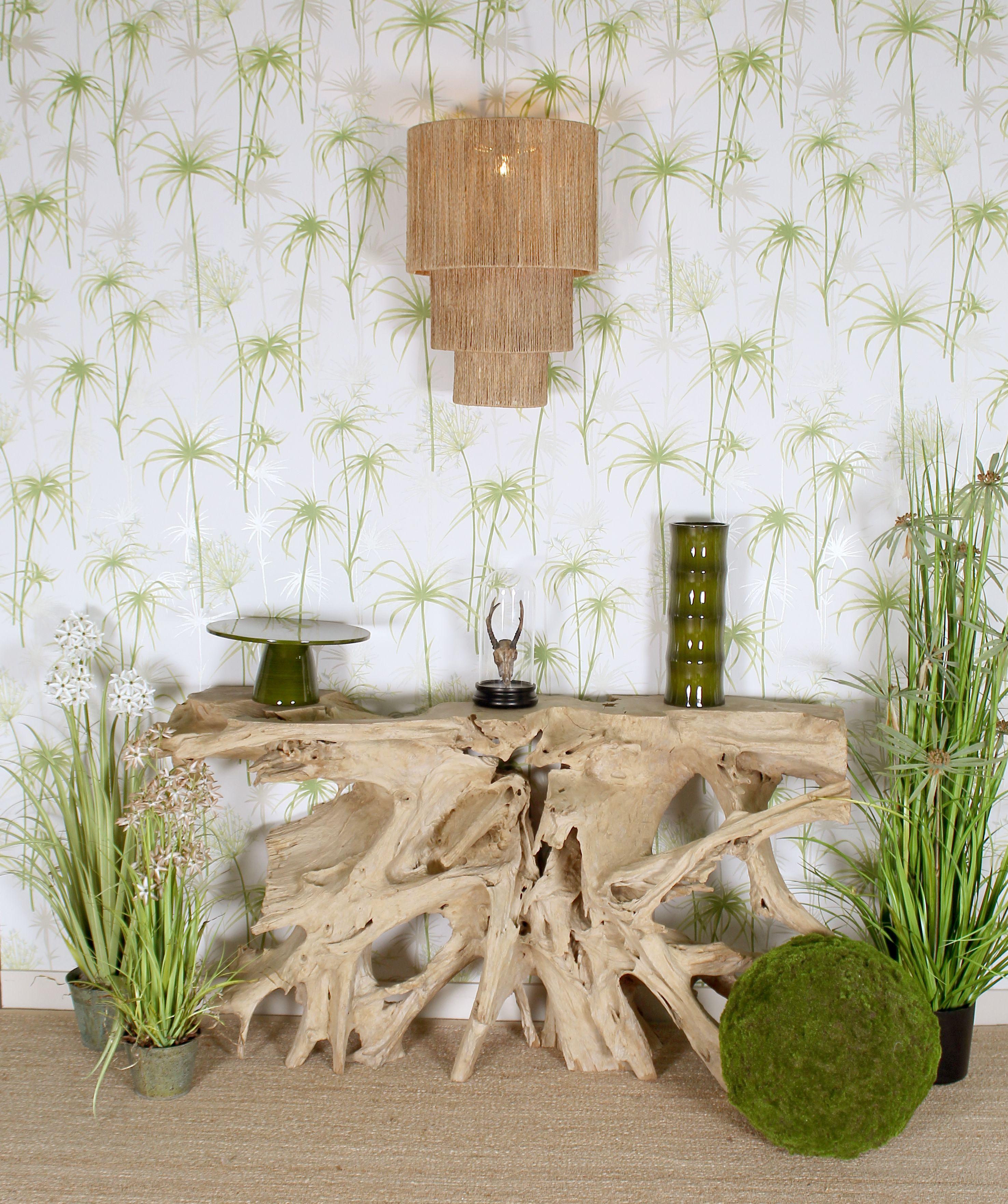La Tendance Tropicale Souffle Comme Un Vent De Fraicheur Dans La Maison On Aime Son Exotisme Son Esprit Vacances Son Style Elegan Decoration Maison Tropical