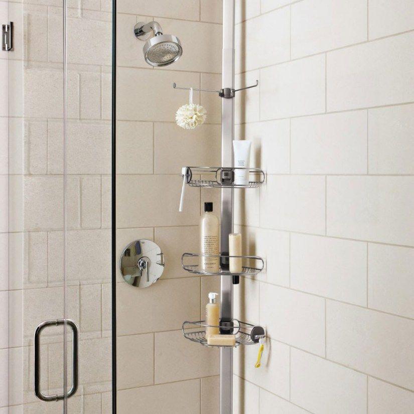 27 Exclusive Wall Shelf Ideas Bedroom Livingroom Diy Undertv Bathroom Kitchen Office Kids Rustic Floa Shower Storage Corner Shower Caddy Shower Caddy