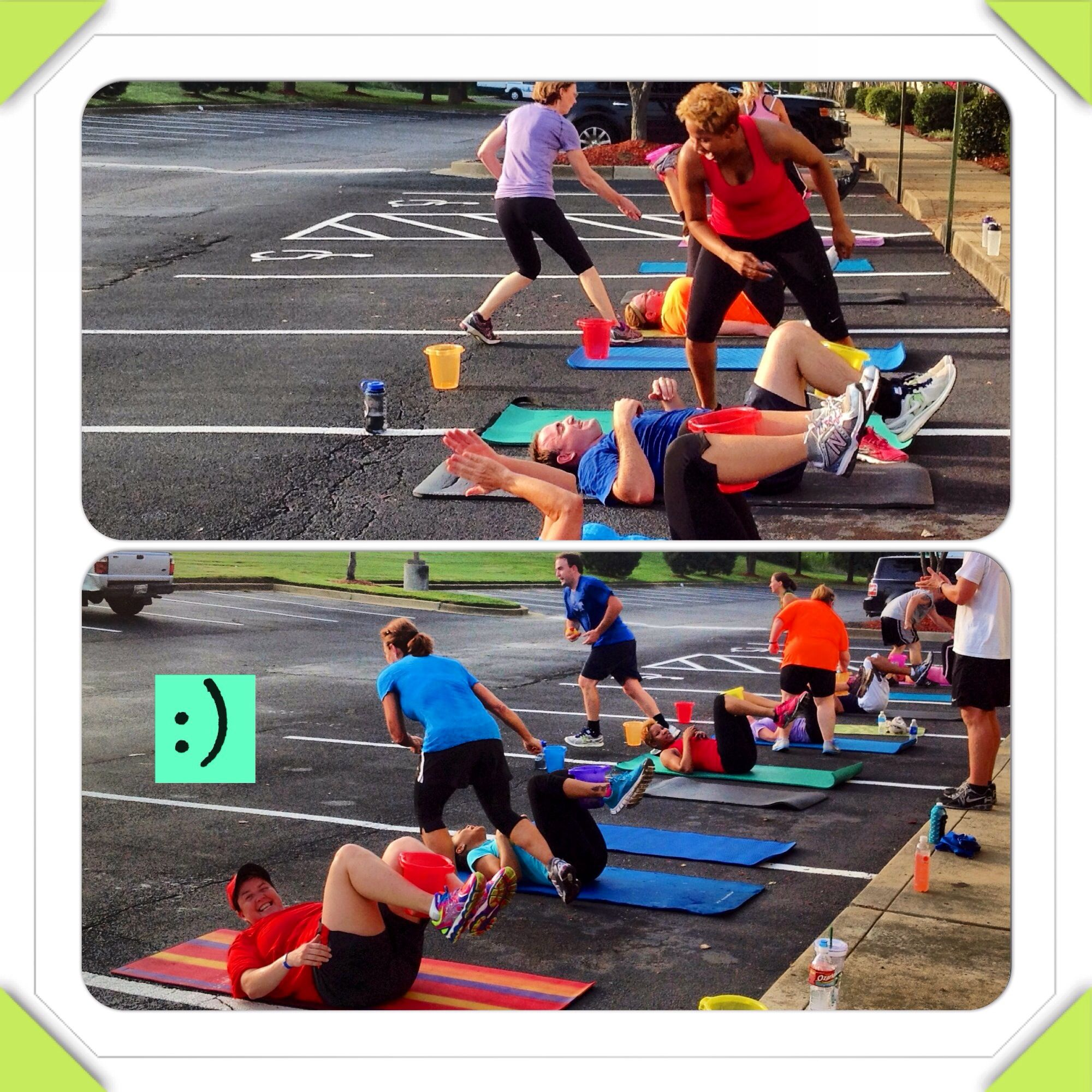 Gett'n our fitness onthe fun way!! 8/9/13 Fitness