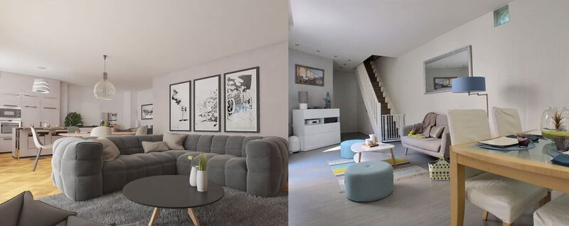 Salon En Home Staging Avant Apres Salon A Vendre Immobilier