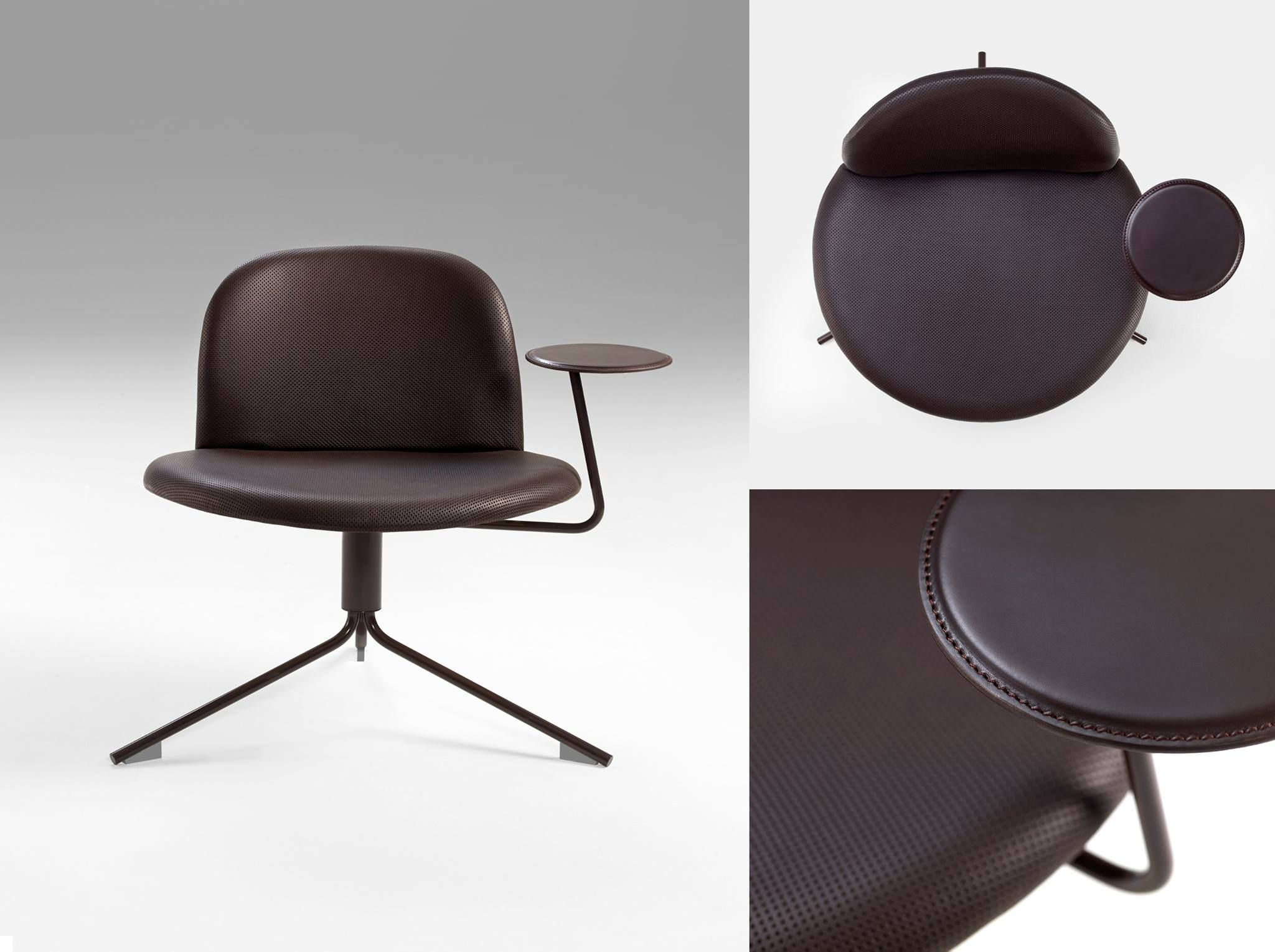 Spinning Chair Satellite Chair Designed By Richard Hutten For Offecct A