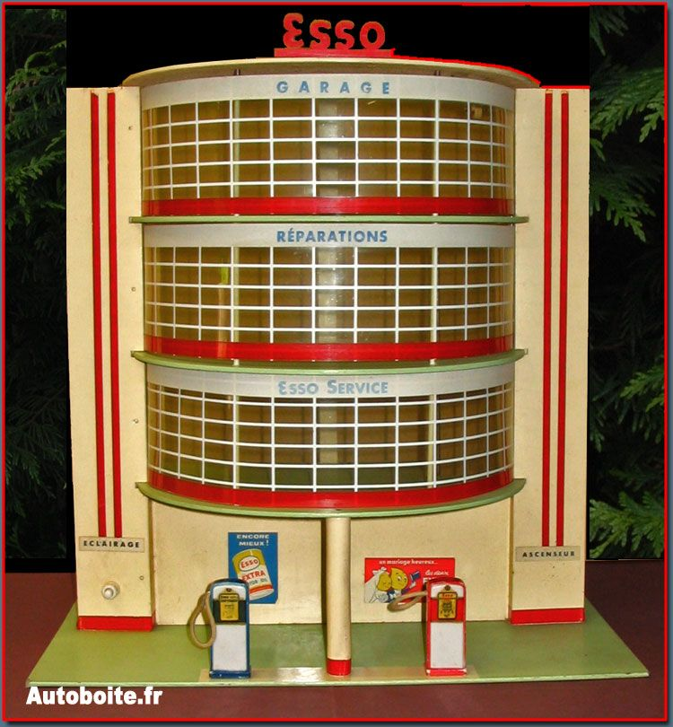 Garage Esso Depreux Garage jouet, Jouet, Vieux jouets
