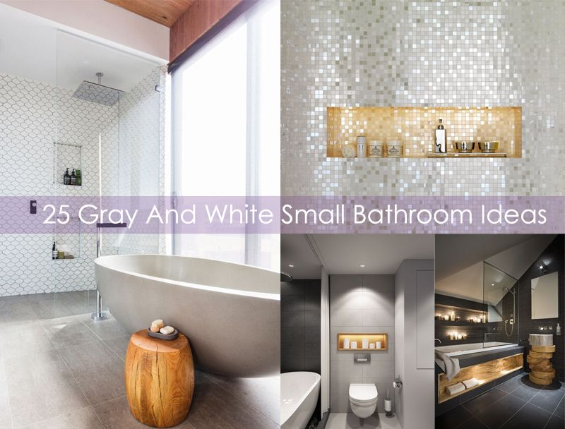 gray bathroom designs tile for today we gather 25 gray and white bathroom design ideas these colors success make people who see it fall in love with the harmonization resulted small ideas home etc pinterest