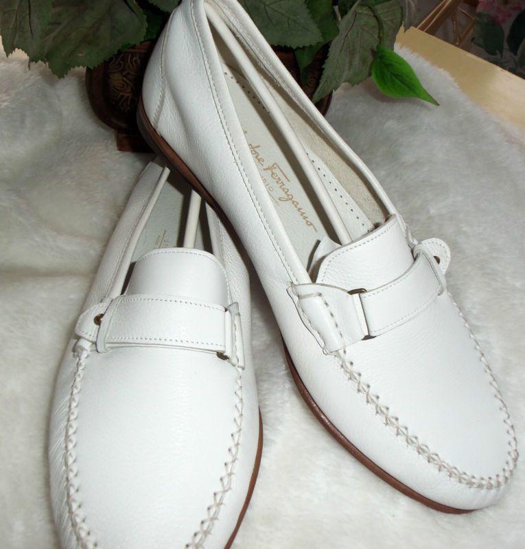 pinterest mens in white shoes | Ferragamo White Loafers, 2nd picture. | Men's Shoes | Pinterest