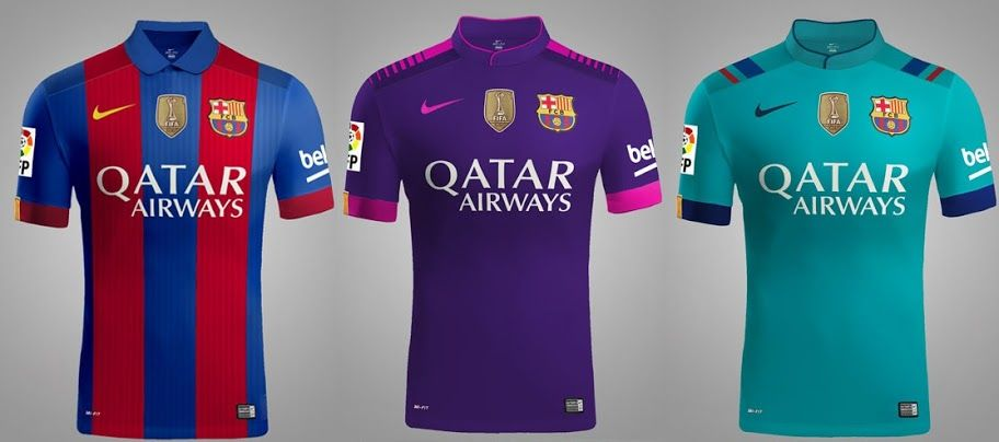 Football Kits 2016-17 (Officially Released Shirts)  7ba837c101fbb