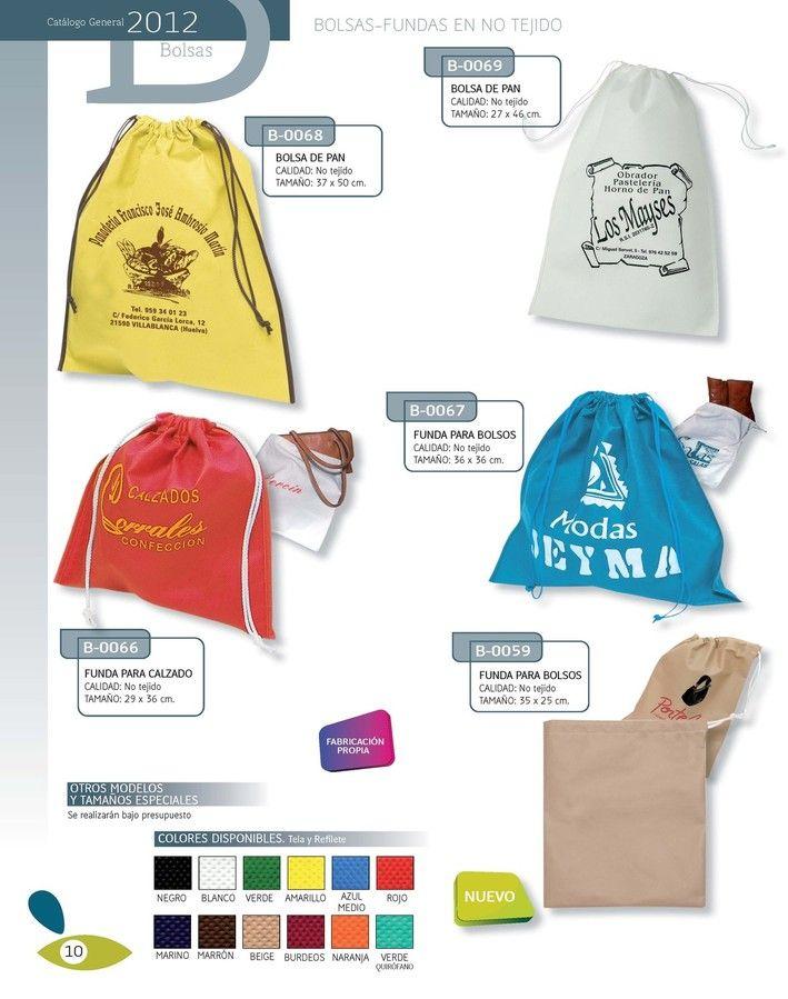 Bolsas tejido sin tejer  www.elreydelabolsa.com