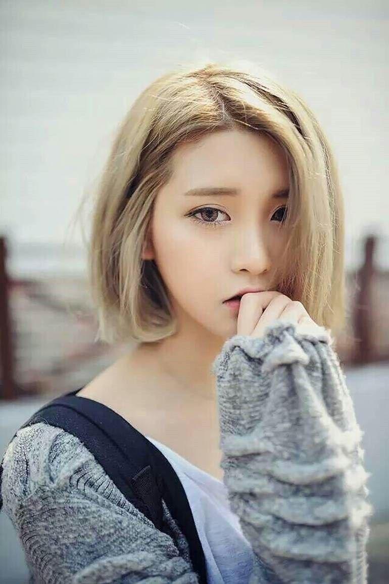 Korean Teenage Girl Short Hair 2017 Styles Art Ink Holes