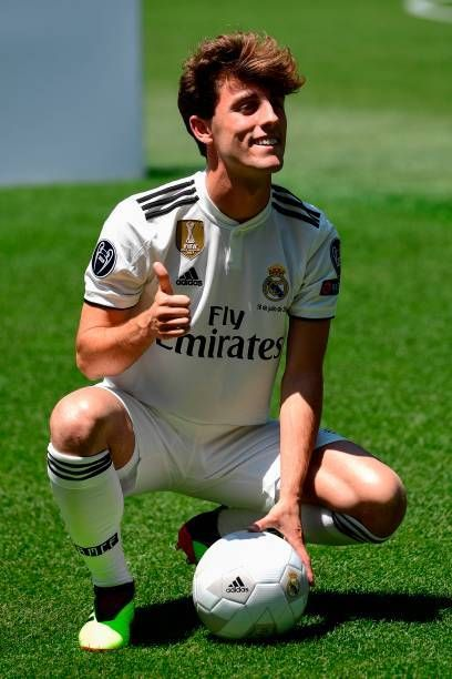 Maillot Extérieur Real Madrid Odriozola